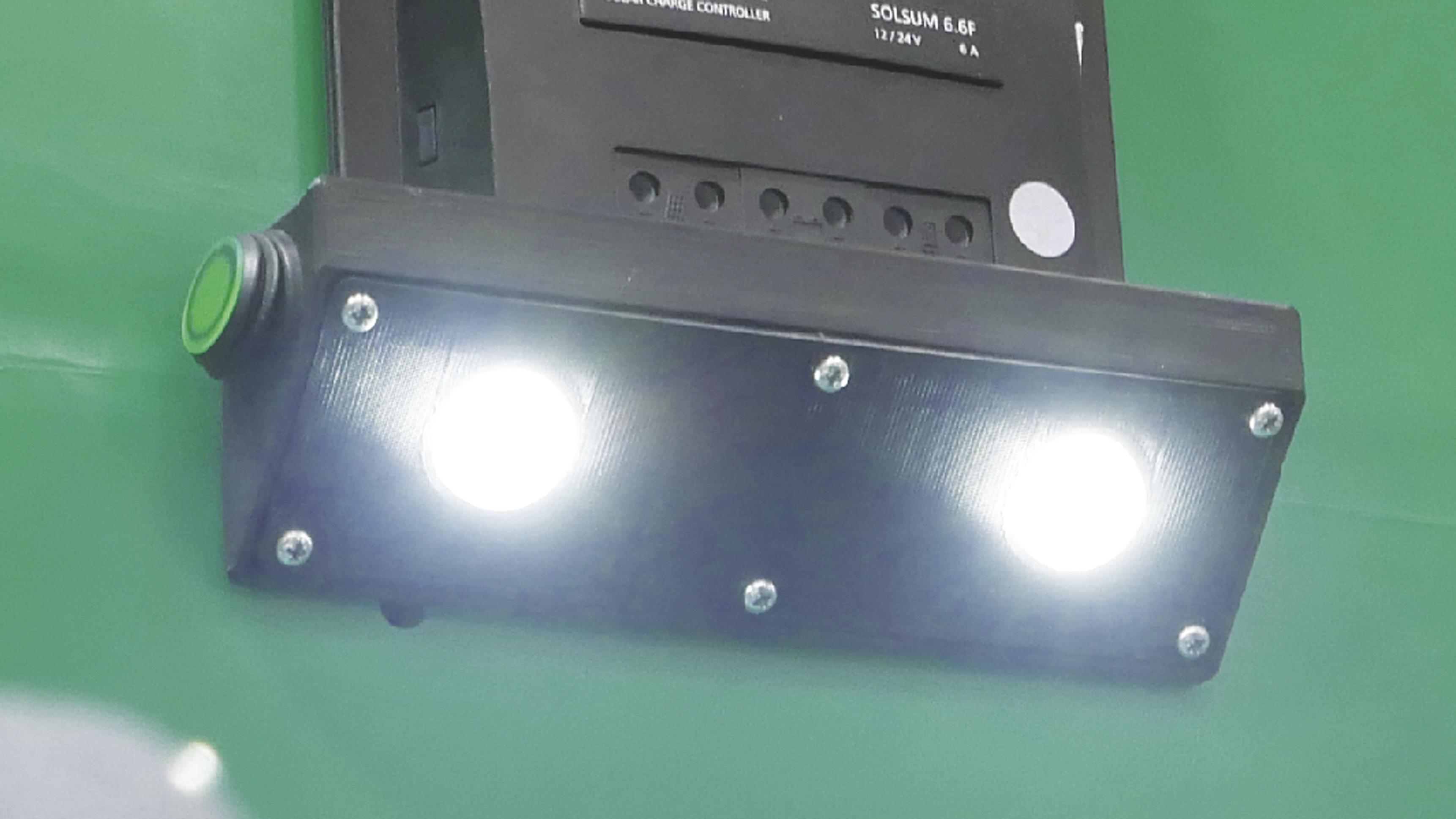 LED tulega